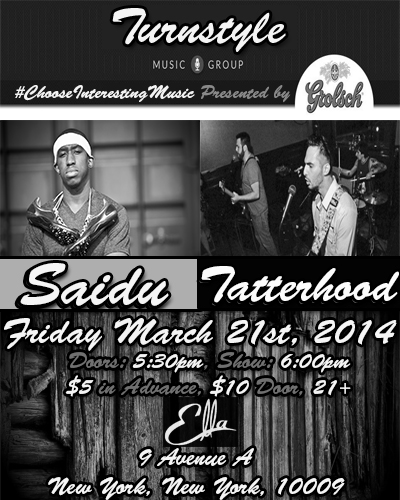 Concert on Friday, March 21st at 6pm @ Ella Lounge