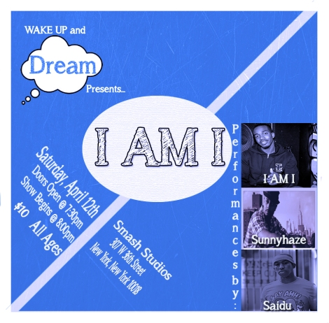 Wake Up and Dream Flyer